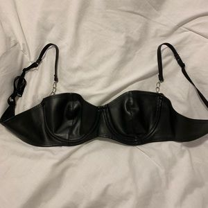 Fredrick's of Hollywood Leather Bra